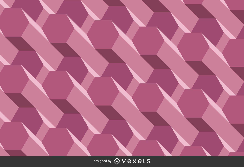 Purple three-dimensional background