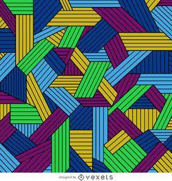 Bunter geometrischer gezeichneter Hintergrund