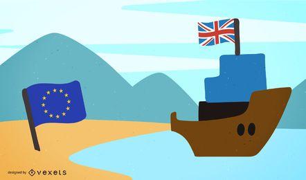 Brexit - Reino Unido deixa design da União Europeia