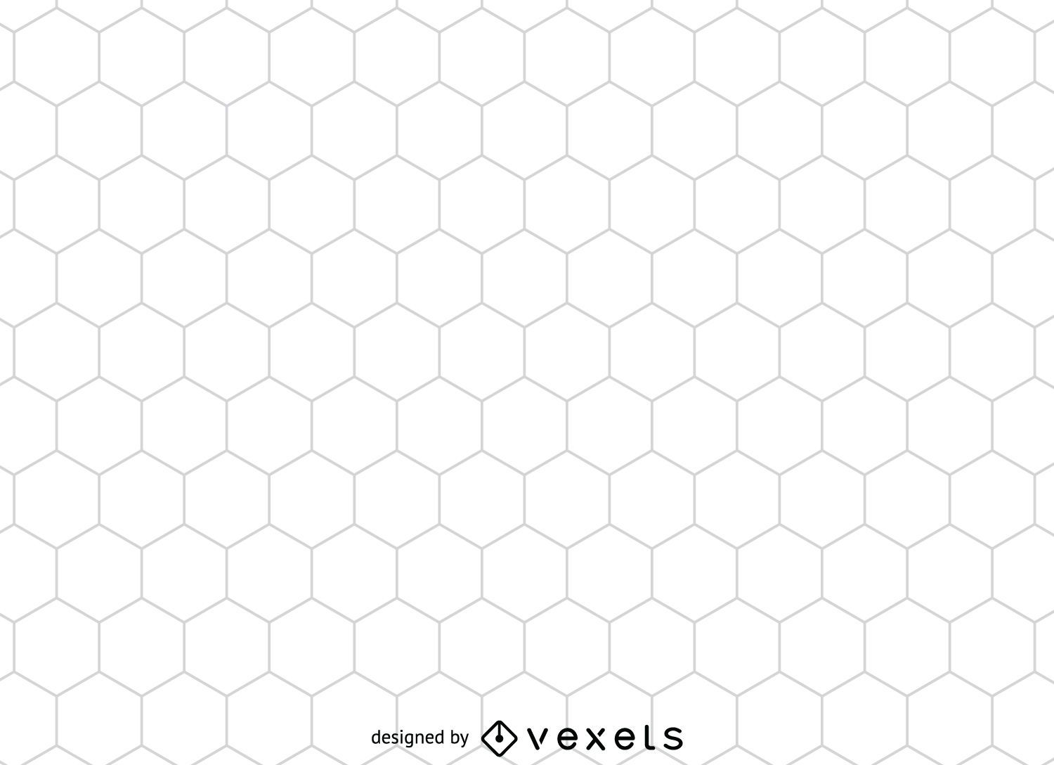 Hexagonal honeycomb pattern - Vector download