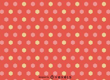 Patrón hexagonal femenino