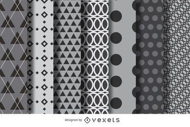 Geometric background collection