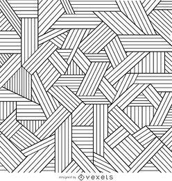 Fondo decorativo contornos geométricos