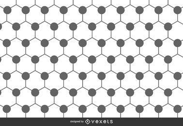 Fondo de patrón poligonal