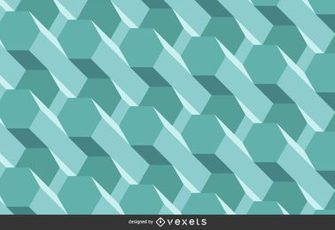 Abstract 3D polygonal background