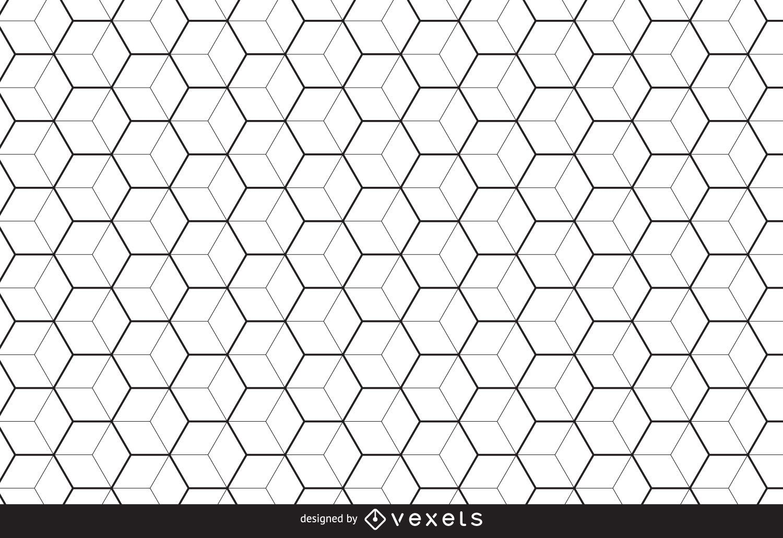 Monochrome linear pattern background