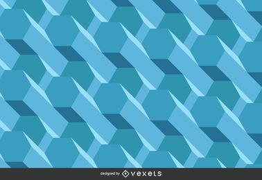 Fondo poligonal 3d
