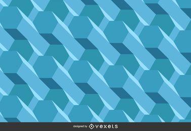 Fundo 3D poligonal