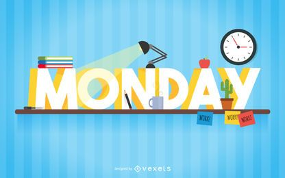 Montag studie zeichen