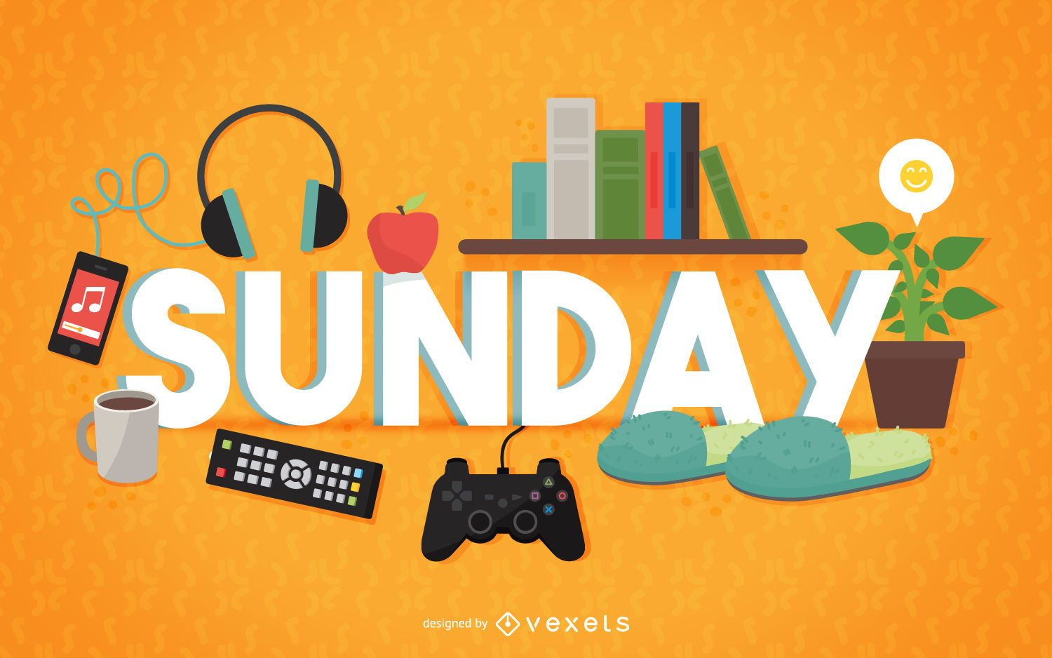 Sunday relax sign