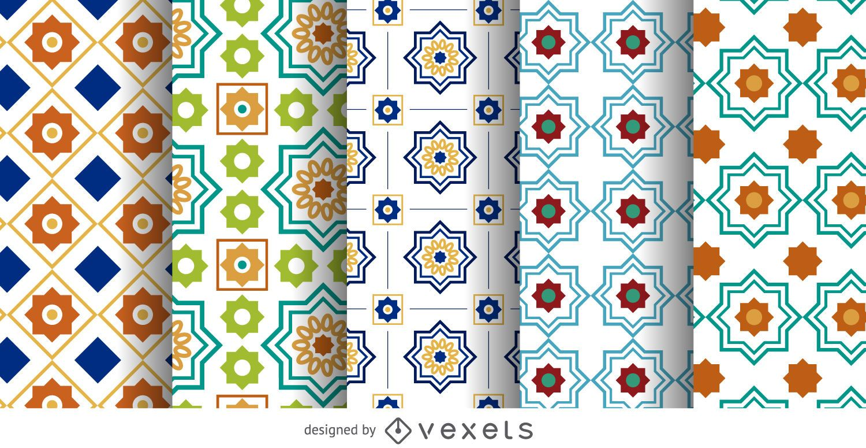 Arabic Ramadan pattern set