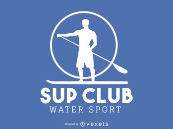 logotipo da silhueta remar