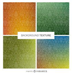 Conjunto de textura de remolino degradado