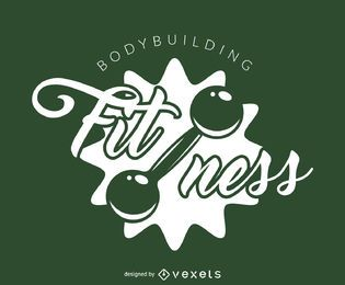 Plantilla de logotipo de gimnasio fitness
