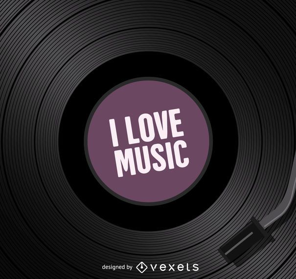 Eu amo musica vinil