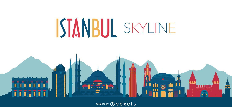 Istanbul Skyline Design