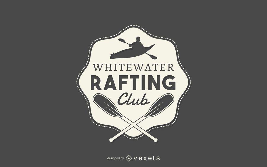 logotipo del club Rafting