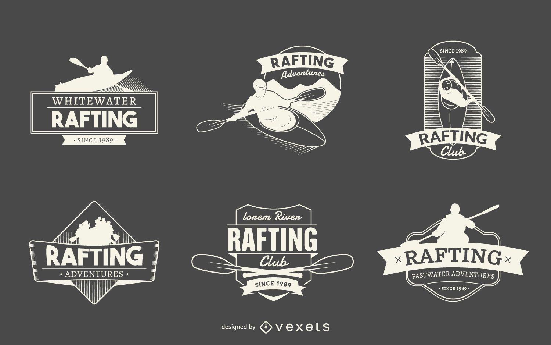 Logotipo de rafting colecciones de etiquetas. - Descargar vector 5f75ab3251a