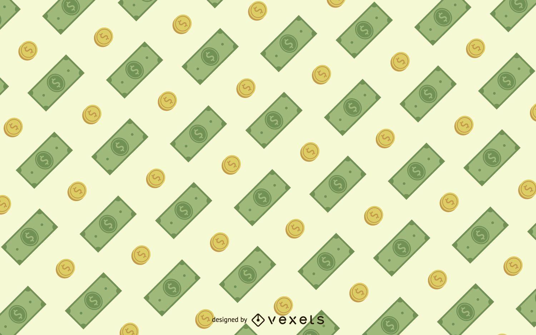 Patrón sin fisuras de dinero
