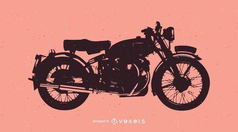 Motocicleta de la vendimia