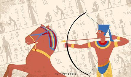 Ramsés II en la batalla de Kadesh