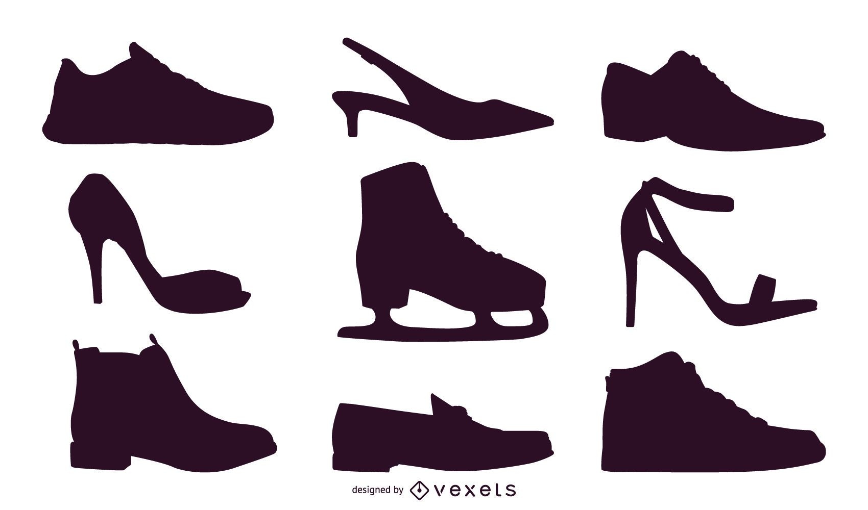 shoe vector graphics to download rh vexels com Stencil Vector Art Graphics Vector Designs