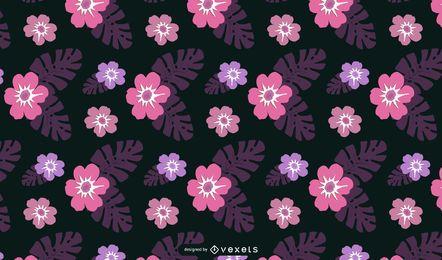 Vector de papel tapiz floral de Hawaii gratis