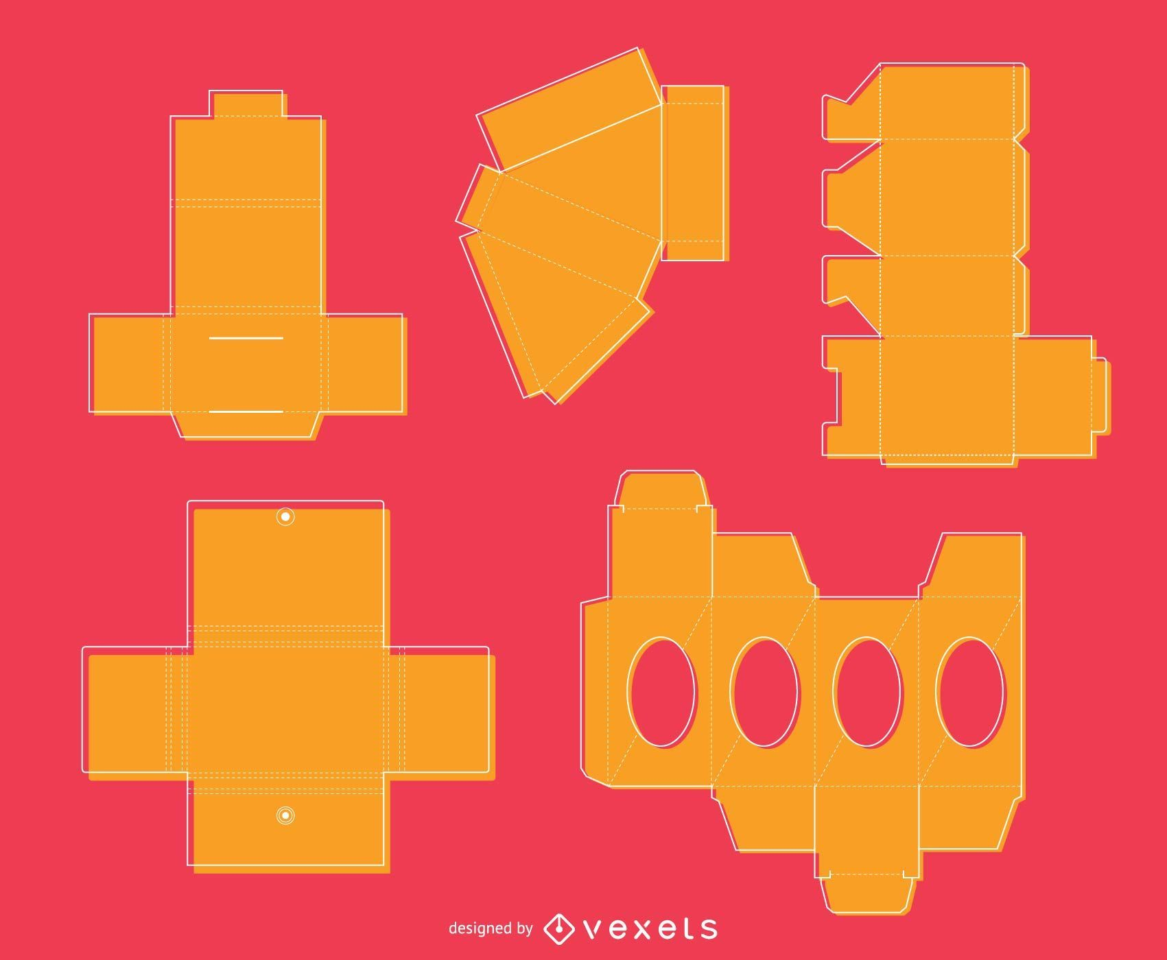 Packaging crafting set