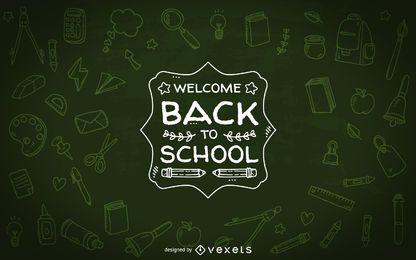Bienvenido de nuevo al diseño de la escuela