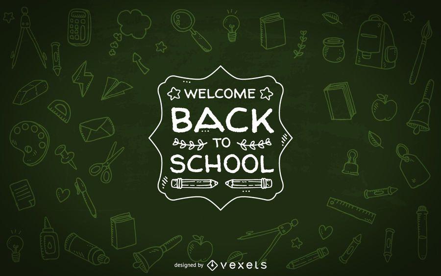 Bem-vindo de volta ao projeto da escola