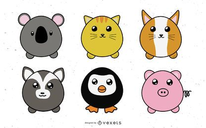 Cute Puffy Animals
