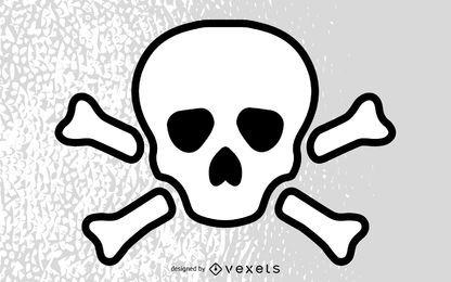 Jolly Rogers Skull