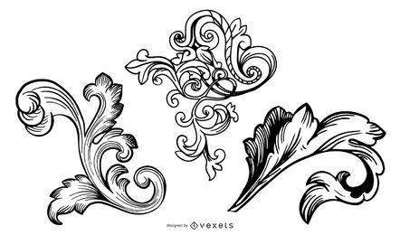 Conjunto de muestra de diseño de Pale Horse