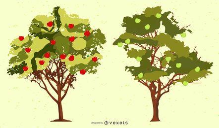 Árboles de manzana