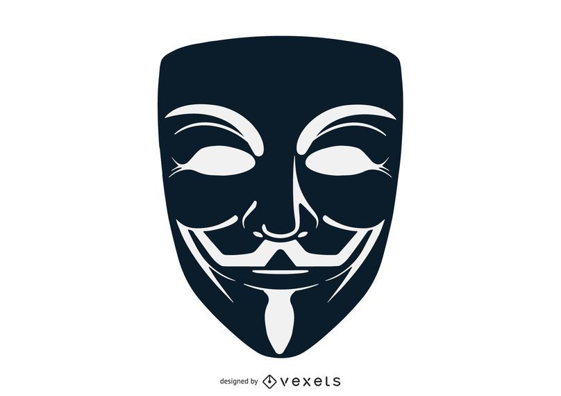 Vendetta Mask Vector