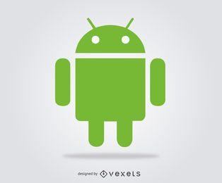 Logotipo de vetor Android