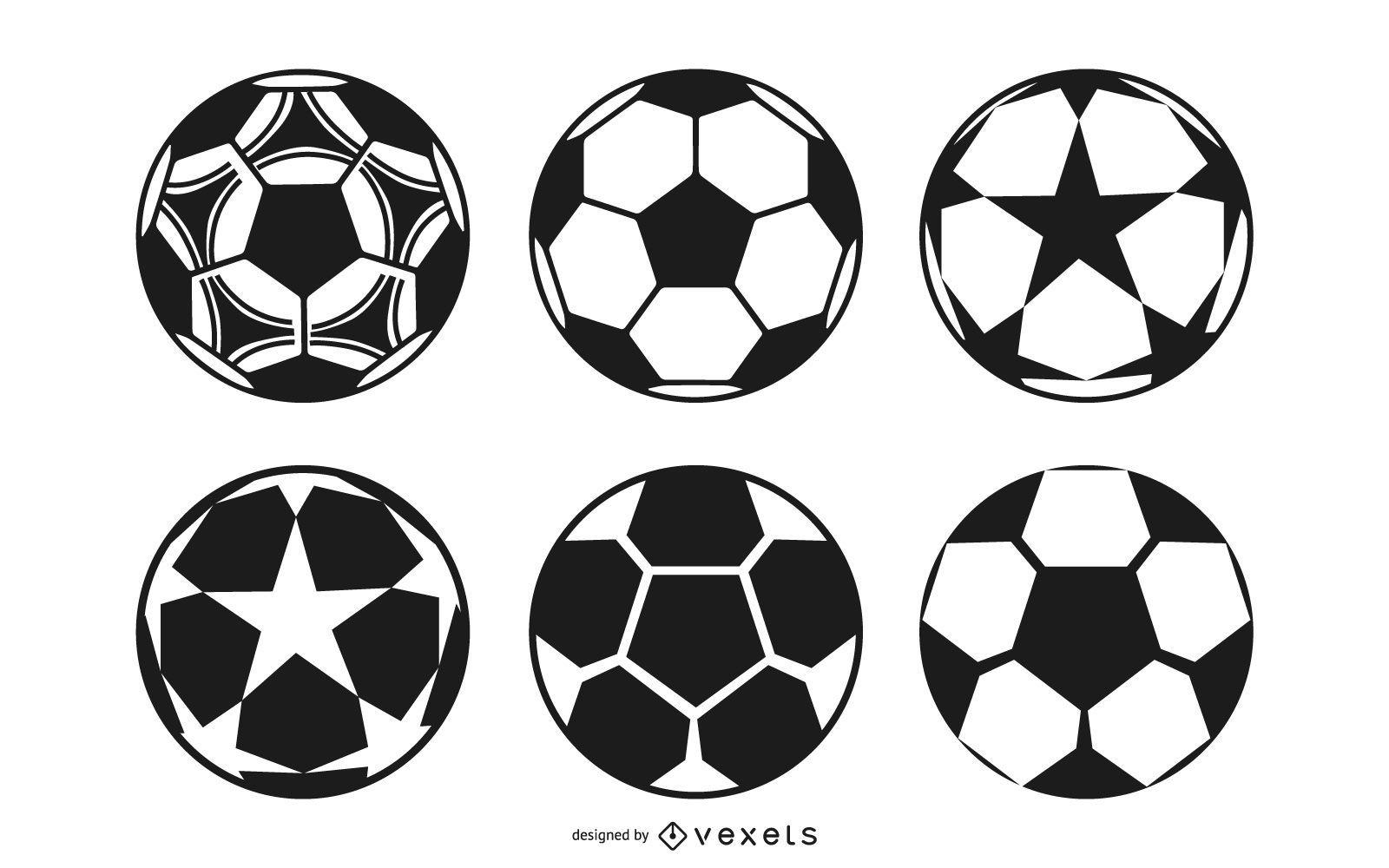 Football Ball Design Collection