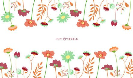 Vector Flowers - Downlaod Page