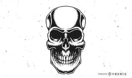 Vektor-Schädel-Design - Download-Seite