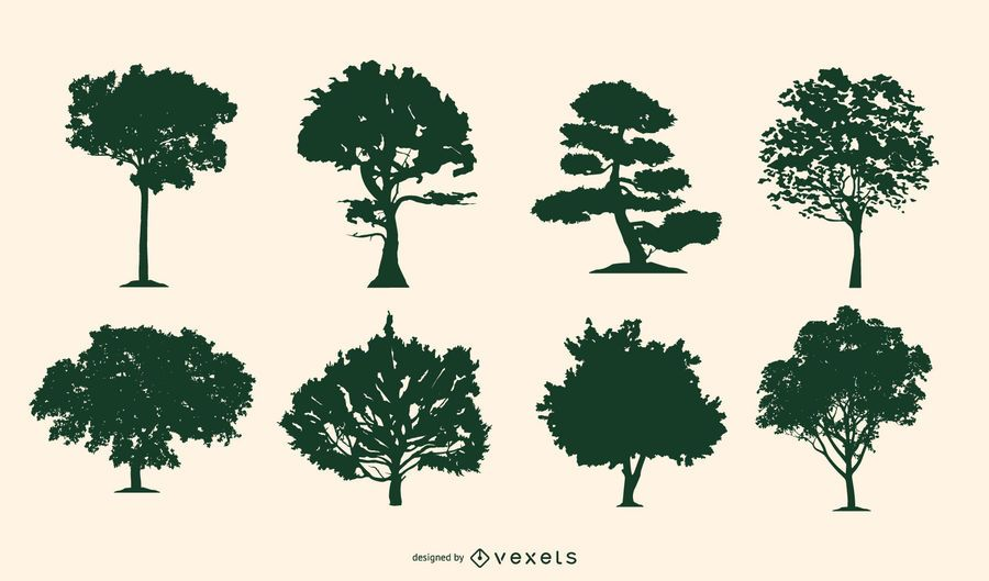 Tree Silhouettes Pack