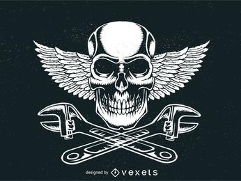 Logotipo do sinal de Motorhead