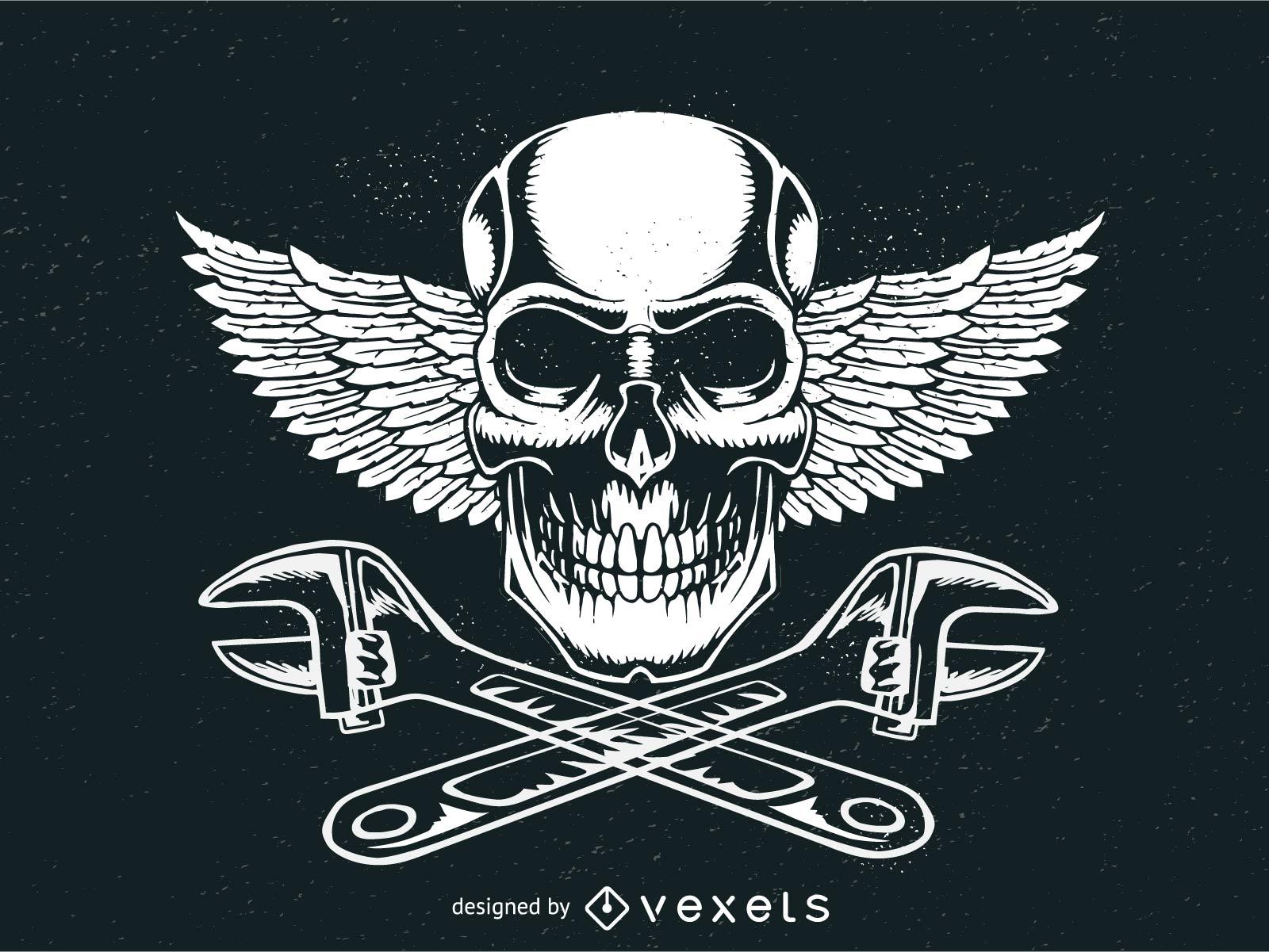 Logotipo da placa Motorhead