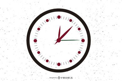 Free Vector Clock Icon