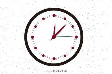 Free Vector Clock Icon