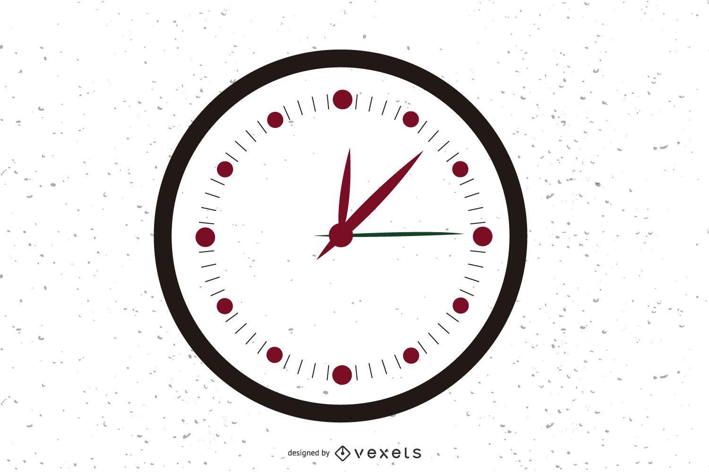 Icono de reloj de vector libre