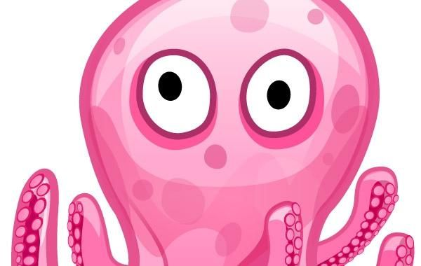 Free vector art-Octopod