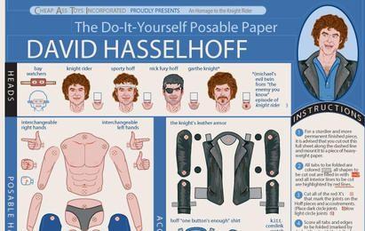 Bricolaje David Hasselhoff