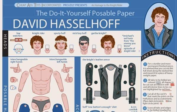 DIY David Hasselhoff
