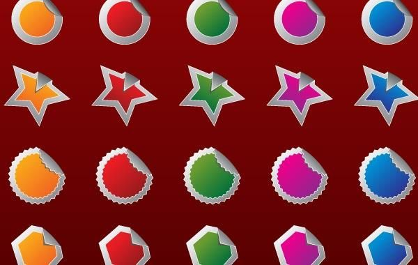 Free High Quality Vector 2 - badges
