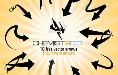 Free Vector Arrows - Engulf with Arrows